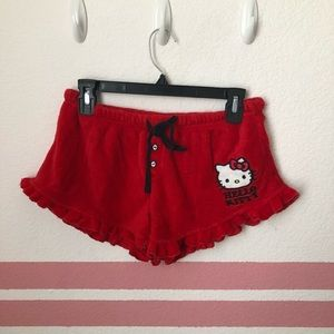 Hello kitty shorts set